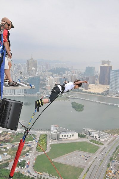 Human, Person, Bungee