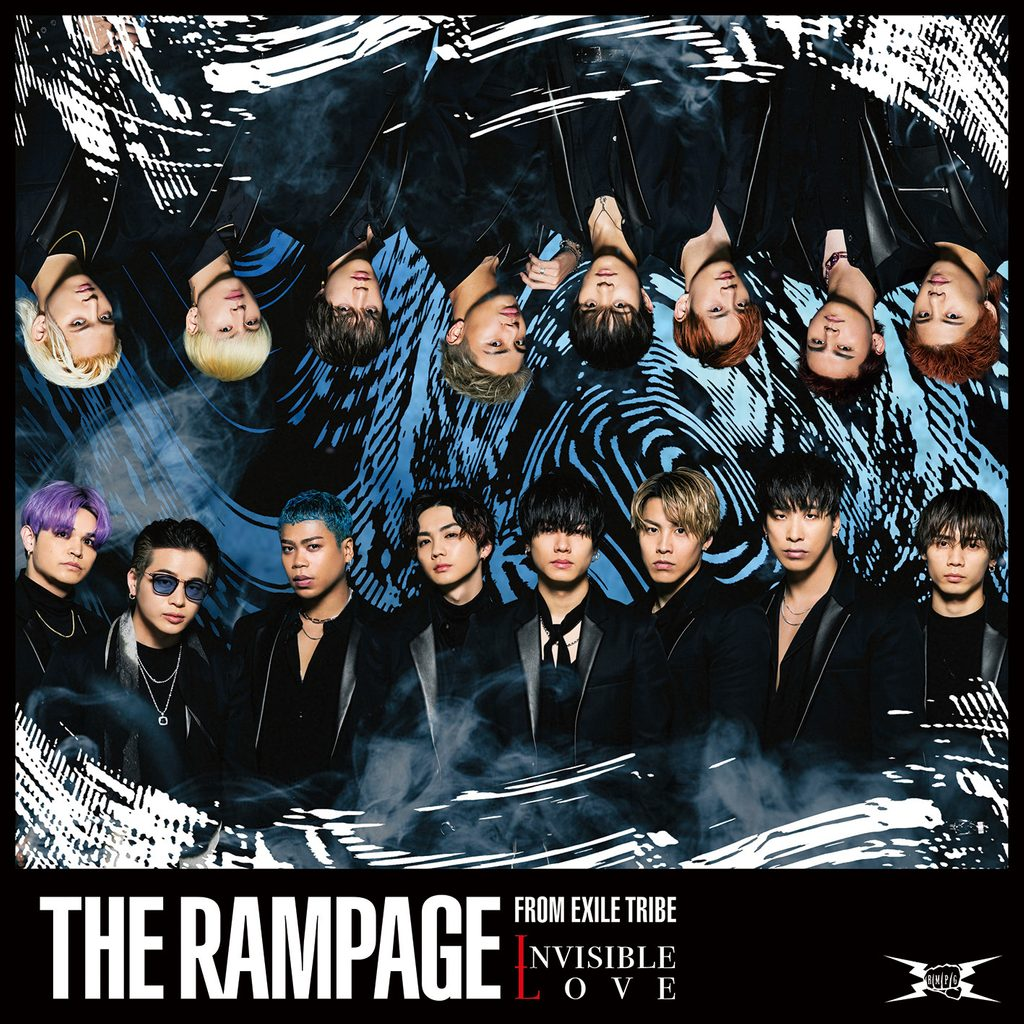THE RAMPAGE from EXILE TRIBE「INVISIBLE LOVE」のジャケット写真