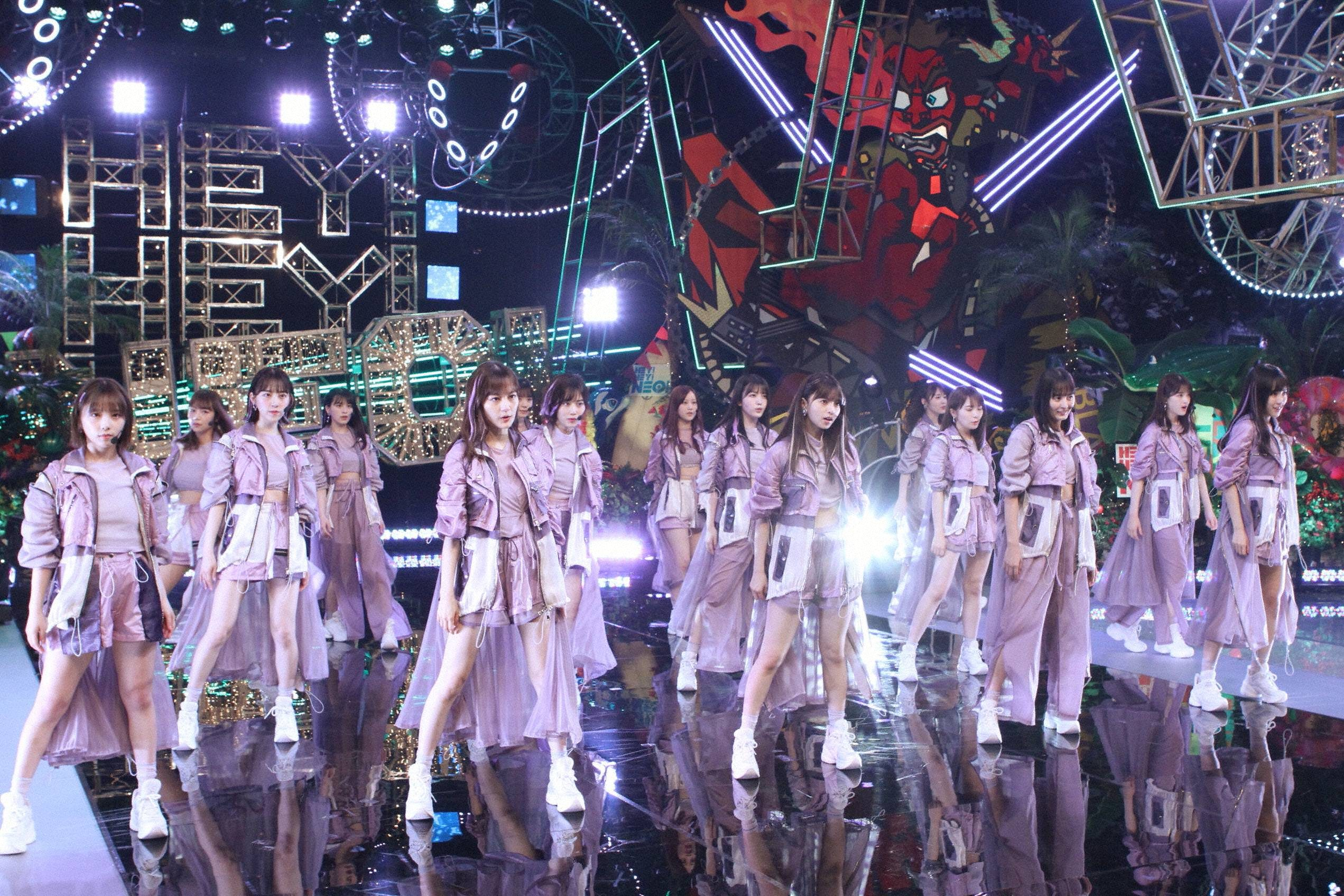 『HEY!HEY!NEO! MUSIC CHAMP』に出演の乃木坂46