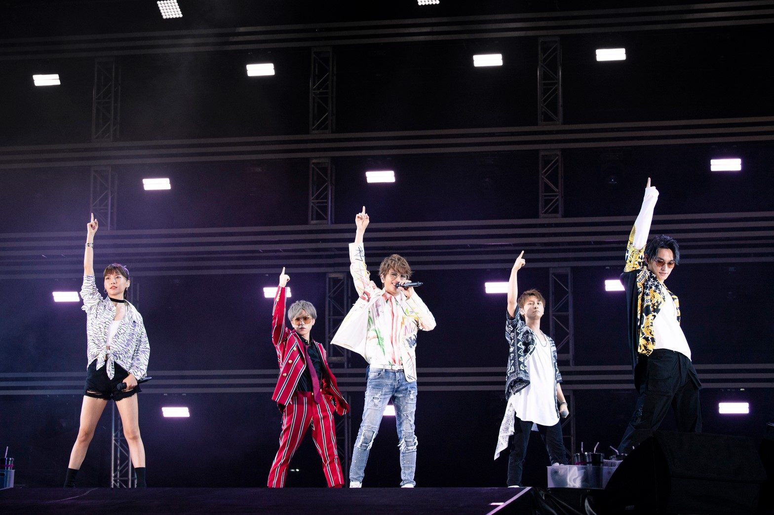 「a-nation 2019」のAAA